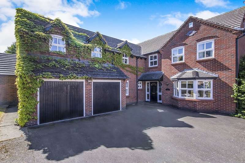 5 Bedrooms Detached House for sale in Hill Close, Peckleton, LEICESTER, LE9
