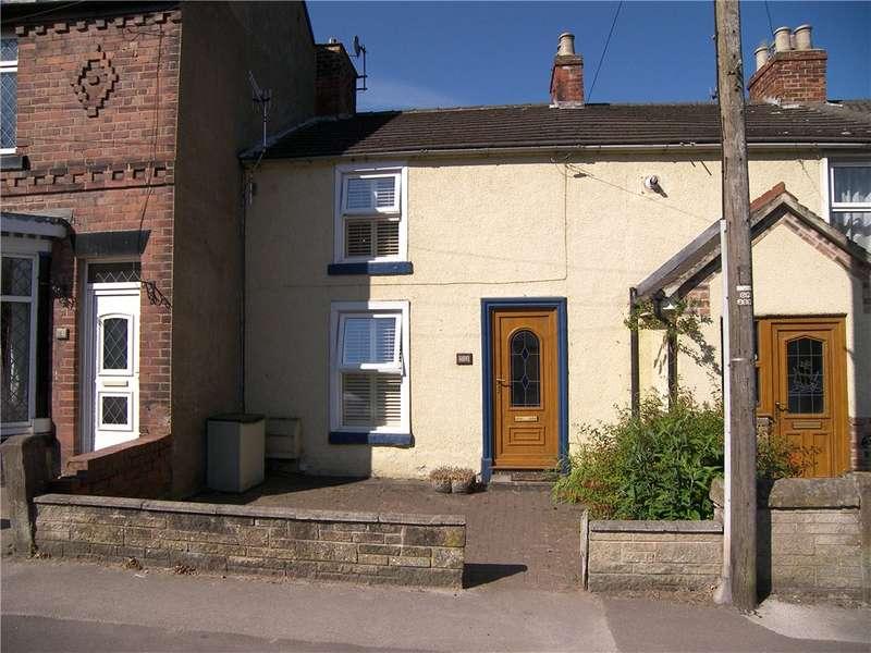 2 Bedrooms Terraced House for sale in Derby Road, Ambergate, Belper, Derbyshire, DE56