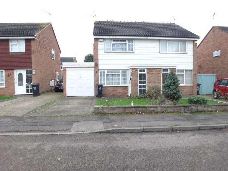 2 Bedrooms Semi Detached House for sale in Silverstone Drive, Rushey Mead, Leicester