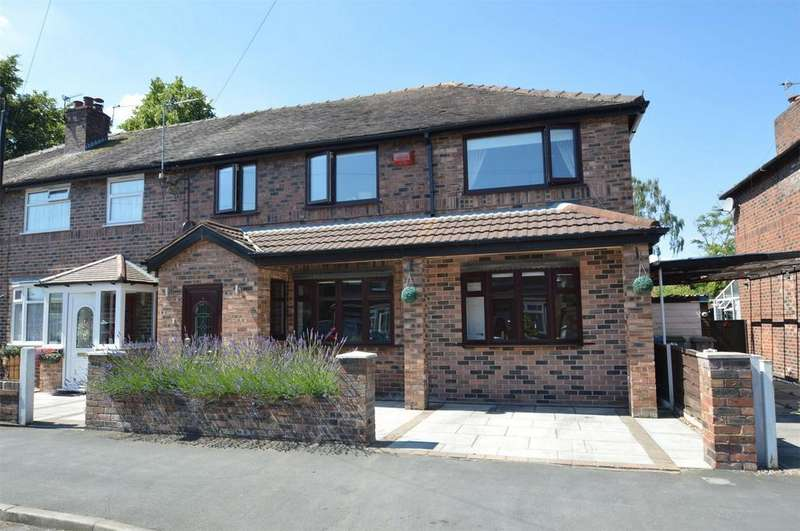 4 Bedrooms Semi Detached House for sale in Newton Road, ALTRINCHAM, Cheshire