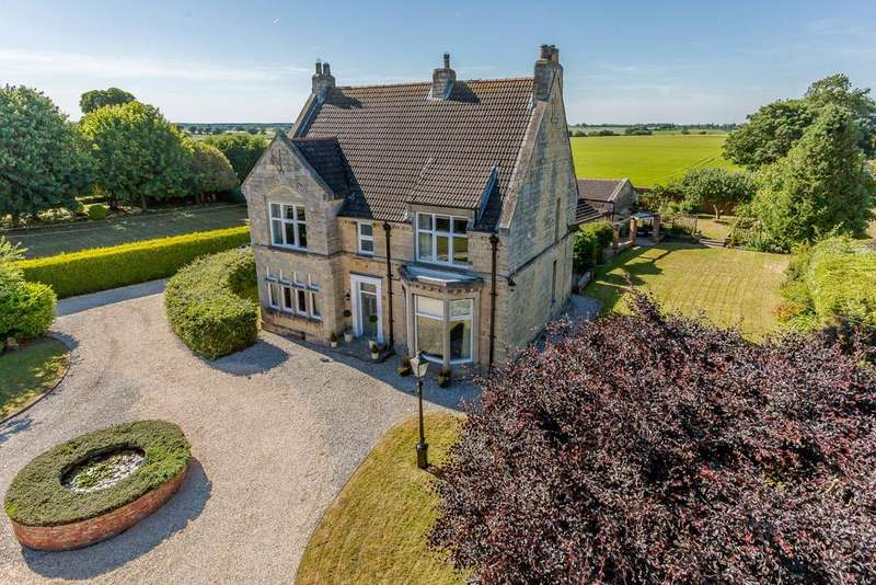 4 Bedrooms Detached House for sale in The Old Vicarage, Monson Road, Northorpe, Gainsborough, DN21