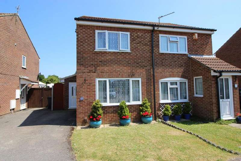 2 Bedrooms Semi Detached House for sale in Chedworth, Yate, Bristol, BS37 8RZ
