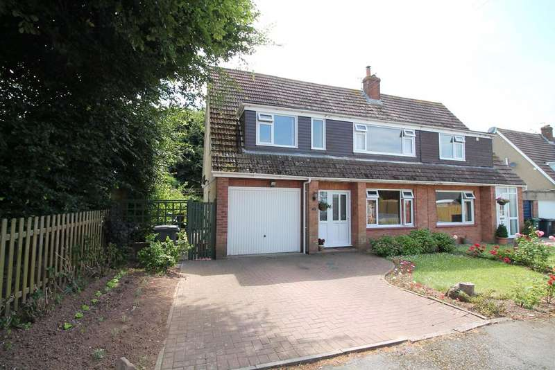 4 Bedrooms Semi Detached House for sale in Highfield Drive, , Portishead, North Somerset