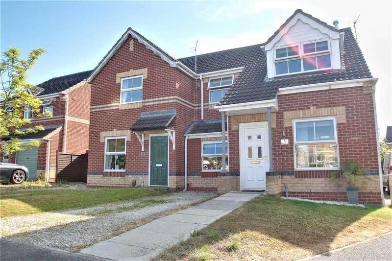 3 Bedrooms Semi Detached House for sale in Ripon Close, Bracebridge Heath, Lincoln