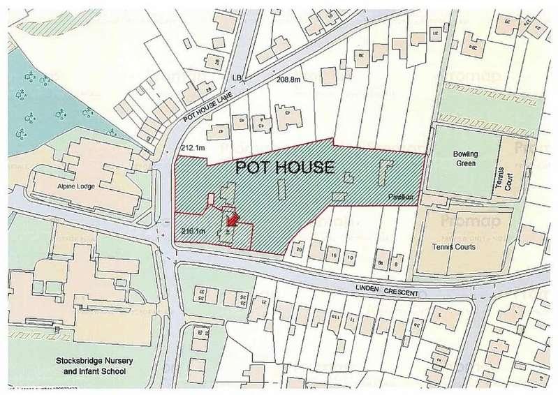 Land Commercial for sale in Residential Development Opportunity, Pot House Lane, Stocksbridge