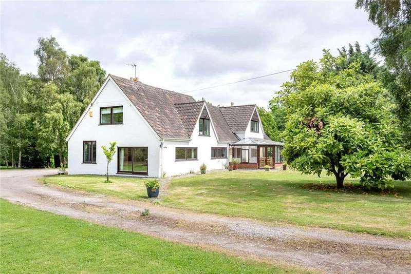 4 Bedrooms Detached House for sale in Witcombe, Gloucester, Gloucestershire, GL3