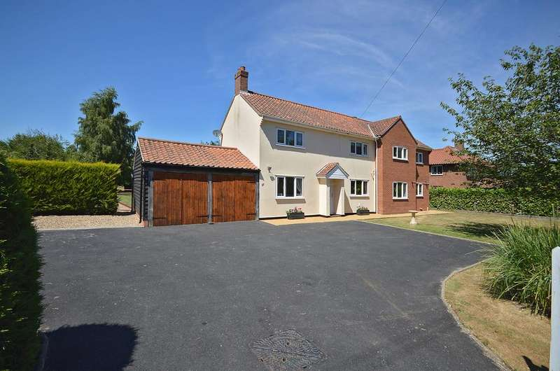 4 Bedrooms Detached House for sale in Norwich Road, Tacolneston