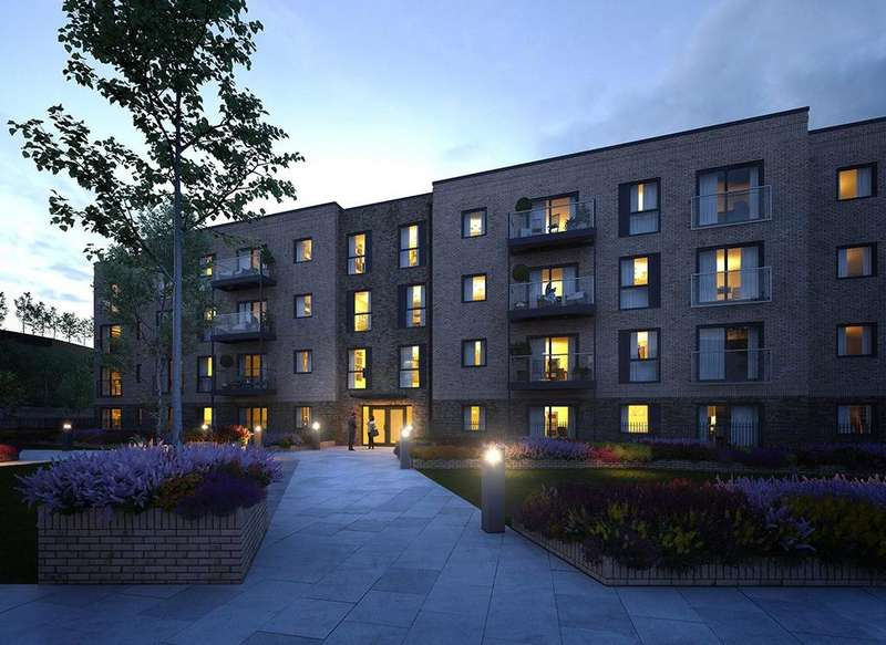 1 Bedroom Apartment Flat for sale in Laurence Court, Saxon Square, Kimpton Road, Luton, Bedfordshire, LU2