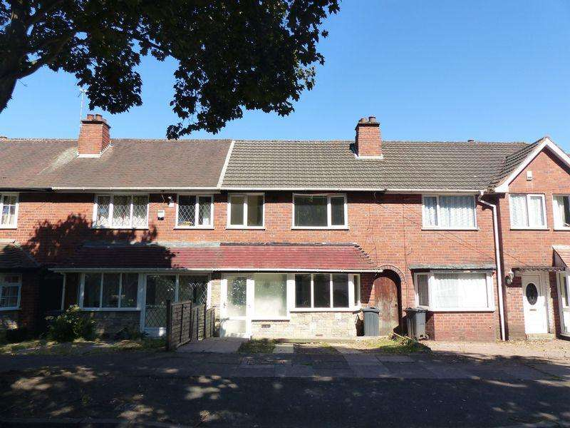 3 Bedrooms Terraced House for sale in Grindleford Road, Great Barr