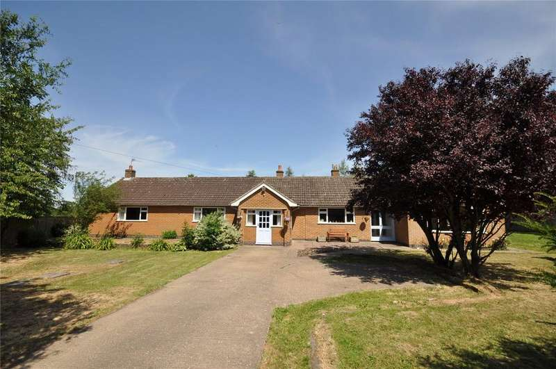 4 Bedrooms Detached Bungalow for sale in Narrow Lane, Wymeswold, Loughborough