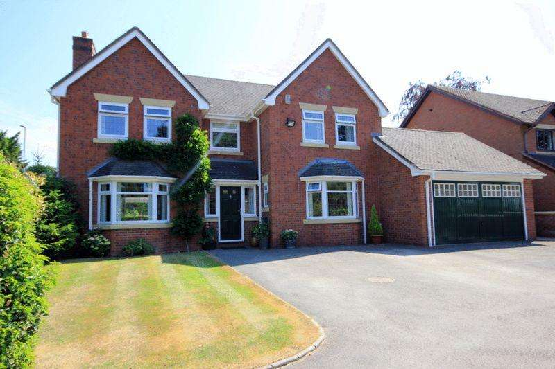 4 Bedrooms Detached House for sale in 1 Blurton Priory, Old Blurton