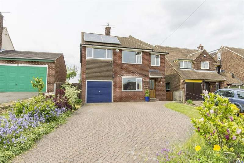 4 Bedrooms Detached House for sale in Cutthorpe Road, Cutthorpe, Chesterfield