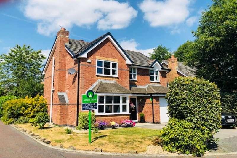 4 Bedrooms Detached House for sale in Teil Green, Fulwood, Preston, PR2