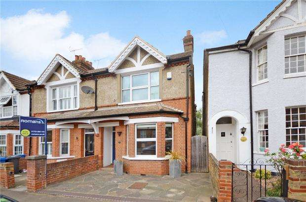 2 Bedrooms End Of Terrace House for sale in Springfield Road, Windsor, Berkshire