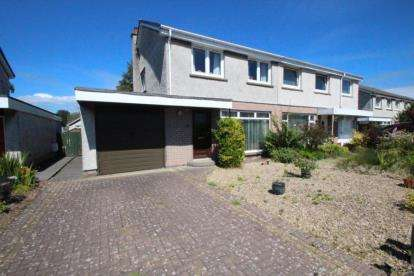 3 Bedrooms Semi Detached House for sale in Balnagowan Drive, Glenrothes