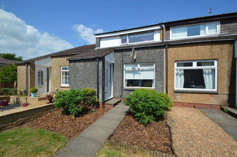 2 Bedrooms Terraced House for sale in Shielhope Court, Irvine, North Ayrshire, KA11 1LX