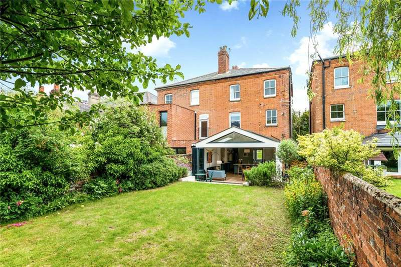 4 Bedrooms Semi Detached House for sale in Ranelagh Road, Winchester, Hampshire, SO23