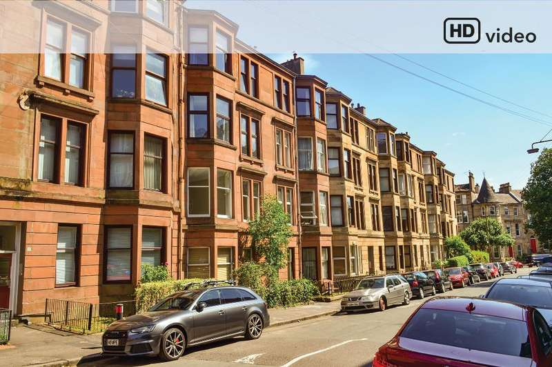 2 Bedrooms Flat for sale in Wilton Drive, Flat 1/2, North Kelvinside, Glasgow, G20 6RX