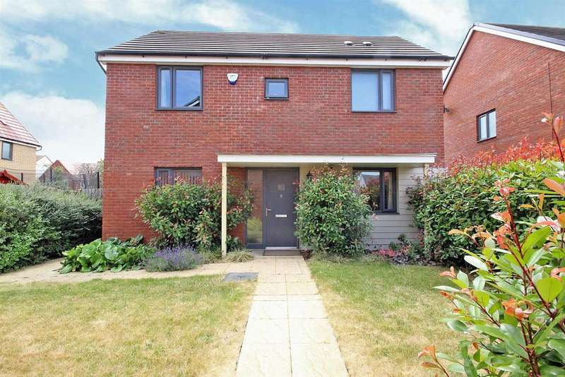 3 Bedrooms Detached House for sale in Ellis Close, Wootton, Bedford