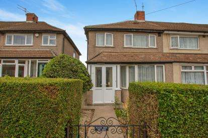 3 Bedrooms End Of Terrace House for sale in Rodway Road, Patchway, Bristol, Gloucestershire