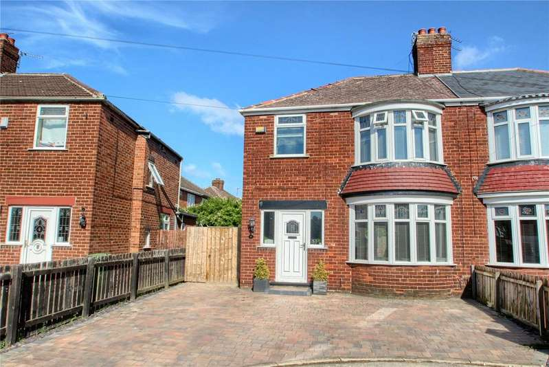 3 Bedrooms Semi Detached House for sale in Eder Road, Norton