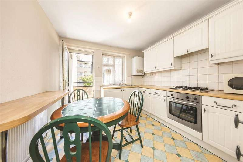 3 Bedrooms Flat for sale in Canterbury Terrace, NW6