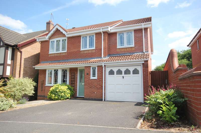 4 Bedrooms Detached House for sale in Knotts Avenue, Lyppard Kettleby, Worcester, WR4