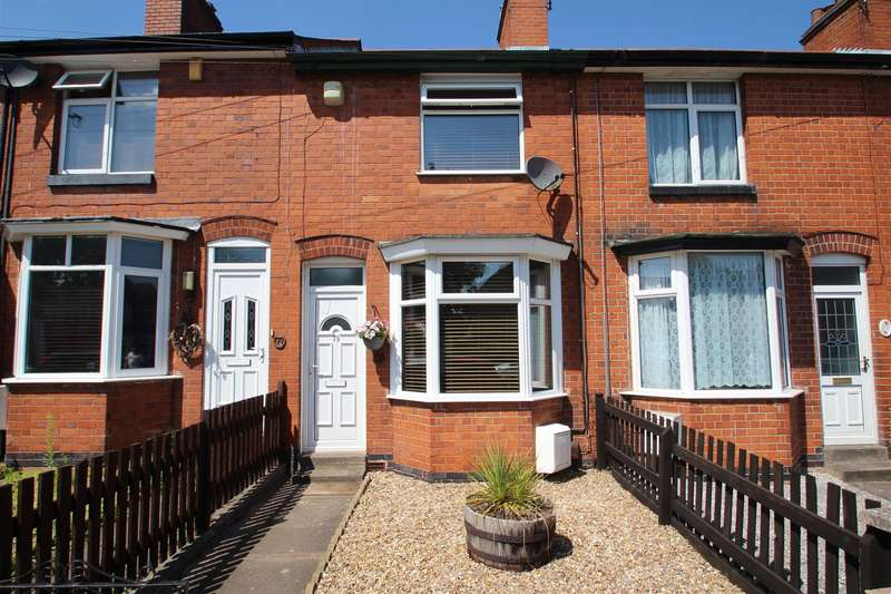 2 Bedrooms Terraced House for sale in Albion Street, Anstey, Leicester