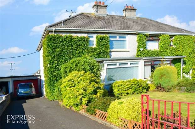 3 Bedrooms Semi Detached House for sale in Chestnut Grove, Ballymoney, County Antrim