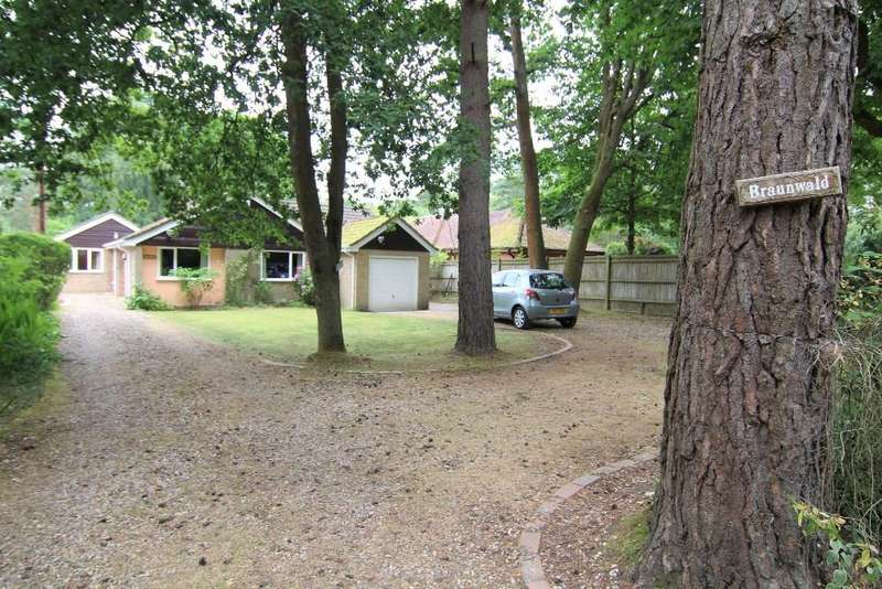 3 Bedrooms Detached Bungalow for sale in Heath Ride, Finchampstead, Wokingham, Berkshire, RG40 3QJ