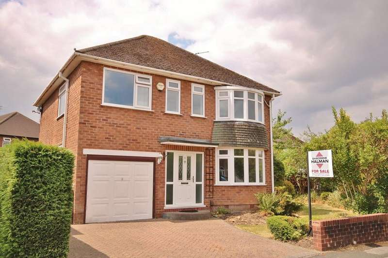 4 Bedrooms Detached House for sale in Derwent Drive, Handforth