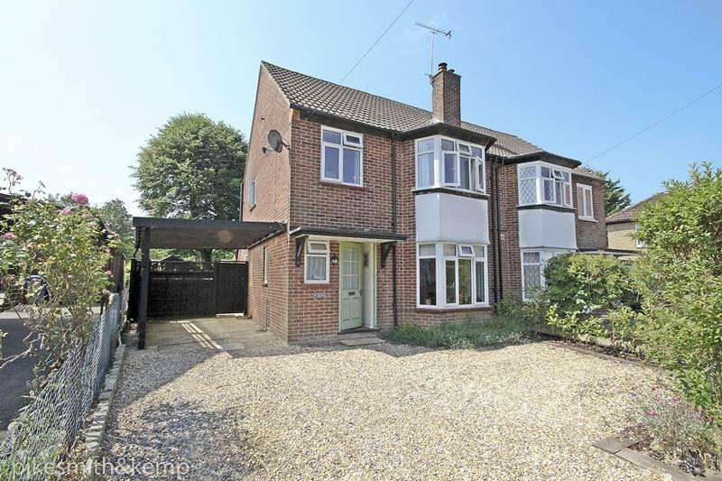 3 Bedrooms Semi Detached House for sale in Graham Close, MAIDENHEAD, SL6