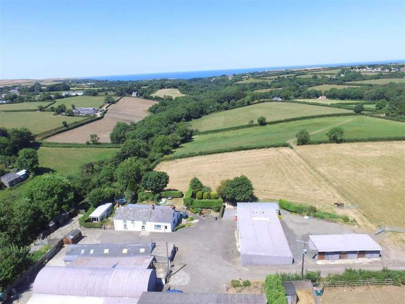 5 Bedrooms Smallholding Commercial for sale in Near New Quay, Ceredigion
