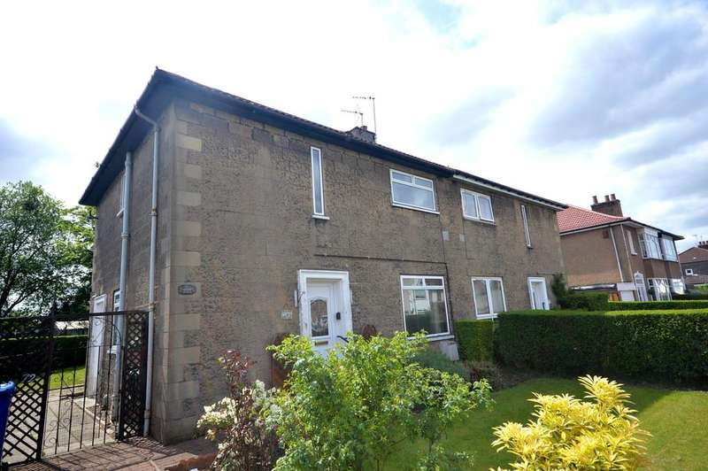3 Bedrooms Semi Detached House for sale in Millburn Avenue, Clydebank G81 1ES