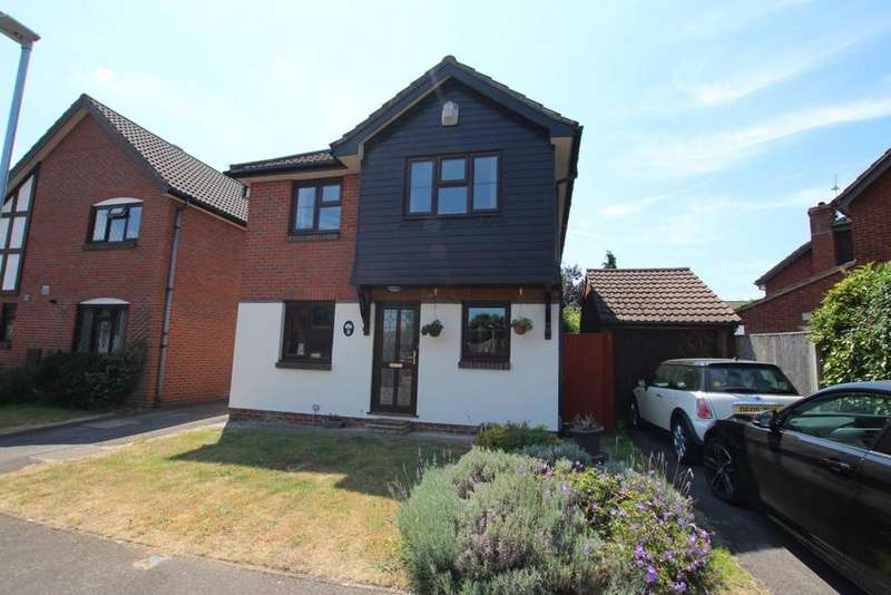 4 Bedrooms Detached House for sale in Medway Close, Wokingham, RG41