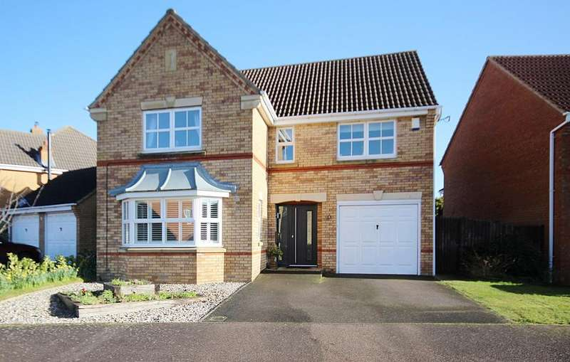 4 Bedrooms Detached House for sale in Chapel Drive, Arlesey, SG15