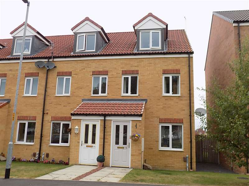 3 Bedrooms End Of Terrace House for sale in Oval View, Scholars Rise, Middlesbrough, TS4 3SW