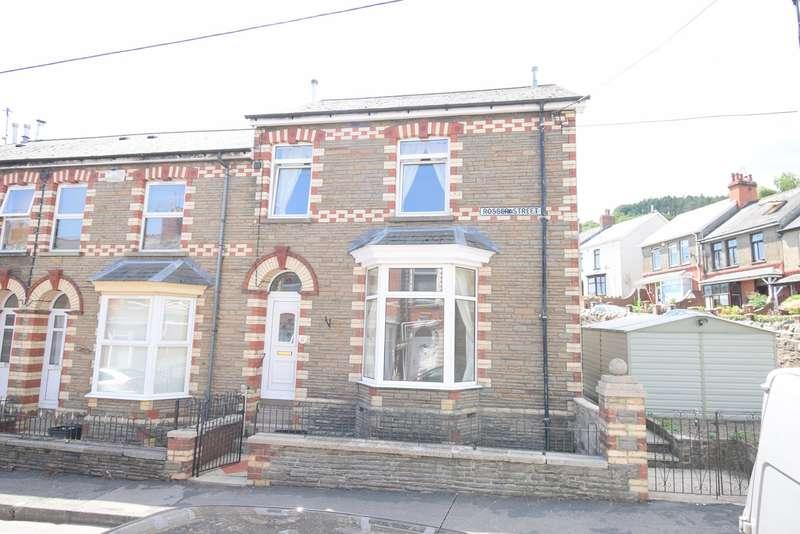 4 Bedrooms End Of Terrace House for sale in Rosser Street, Wainfelin, Pontypool, NP4