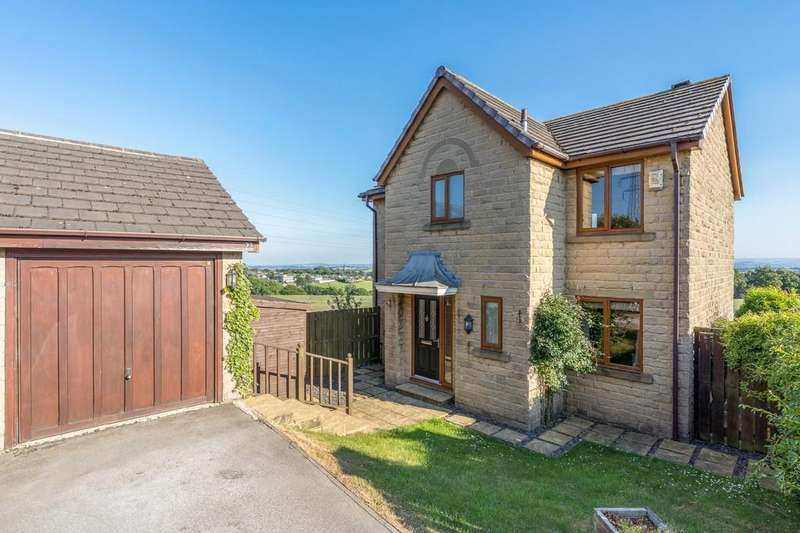 4 Bedrooms Detached House for sale in Soureby Cross Way, East Bierley
