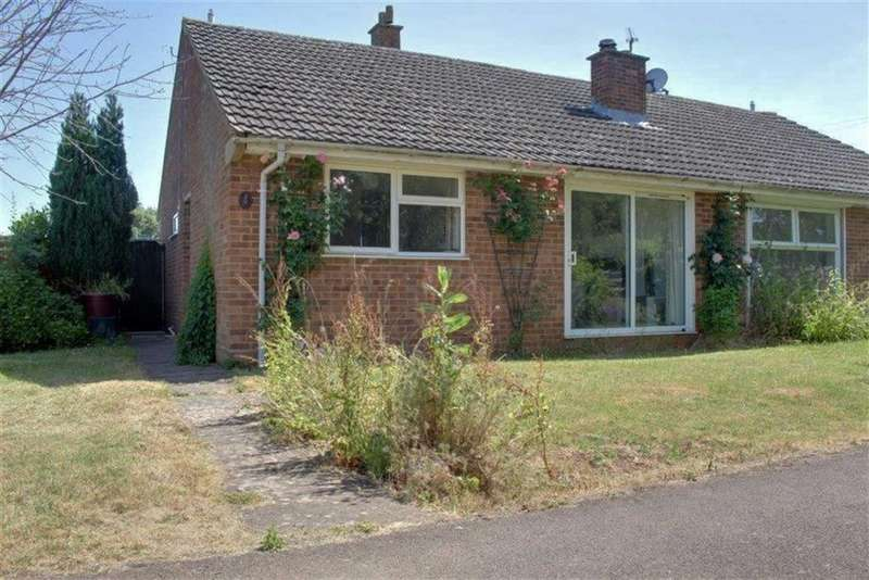 2 Bedrooms Semi Detached Bungalow for sale in Bayfield Gardens, Dymock, Gloucestershire
