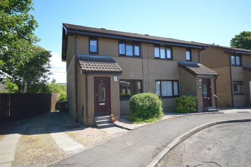 3 Bedrooms Semi Detached House for sale in Meadow Court, Dumbarton G82 2BZ