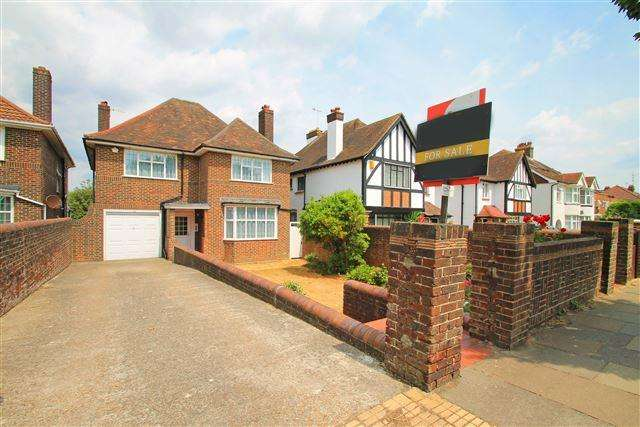 4 Bedrooms Detached House for sale in New Church Road, Hove