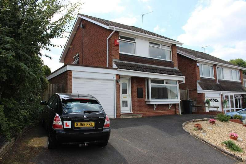 3 Bedrooms Detached House for sale in Quantock Close, Halesowen, B63