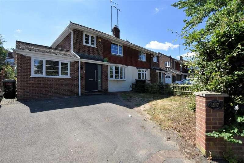 4 Bedrooms Semi Detached House for sale in Overdown Road, Tilehurst, Reading