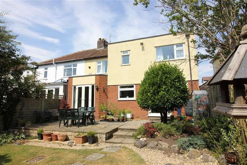 5 Bedrooms Semi Detached House for sale in Cherington Road, Westbury On Trym, Bristol