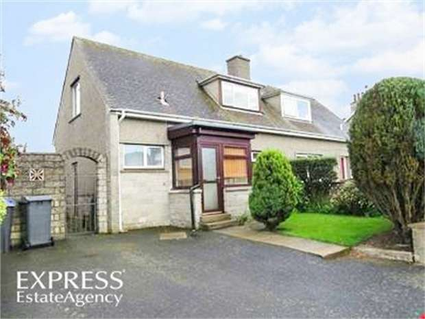 2 Bedrooms Semi Detached House for sale in Duncan Terrace, Udny Station, Ellon, Aberdeenshire