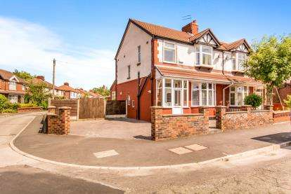 3 Bedrooms Semi Detached House for sale in Burnage Hall Road, Manchester, Greater Manchester, Uk