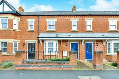 3 Bedrooms Terraced House for sale in McCorquodale Road, Wolverton, Milton Keynes, Buckinghamshire