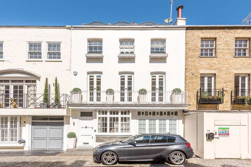 3 Bedrooms Terraced House for sale in Eaton Mews South, Belgravia, SW1W