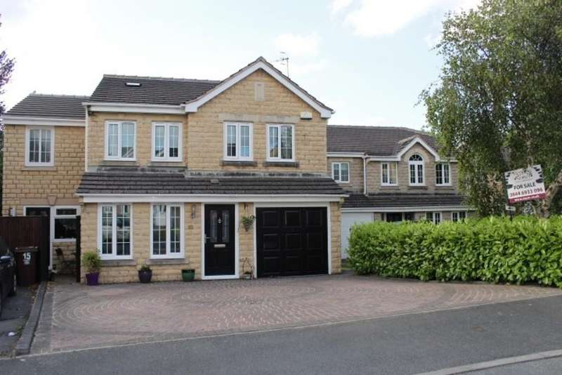5 Bedrooms Detached House for sale in Hurst Close, Shirebrook Park, Glossop